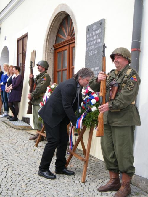 Oslavy 70. výročí osvobození města Horšovský Týn
